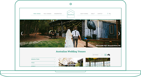 >Connect You With Wedding Venues - WedShed