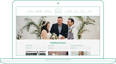 Connect You With Wedding Vendors - Wedshed
