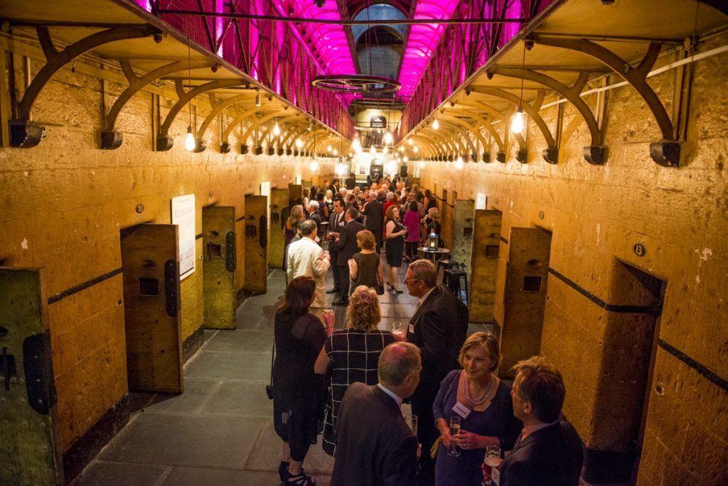 Old Melbourne Gaol Wedding Venue Wedshed