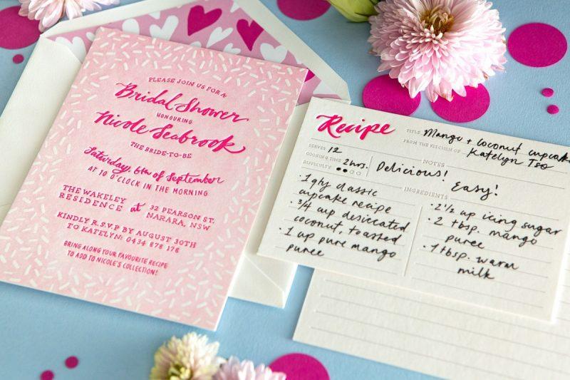 creative wedding stationary
