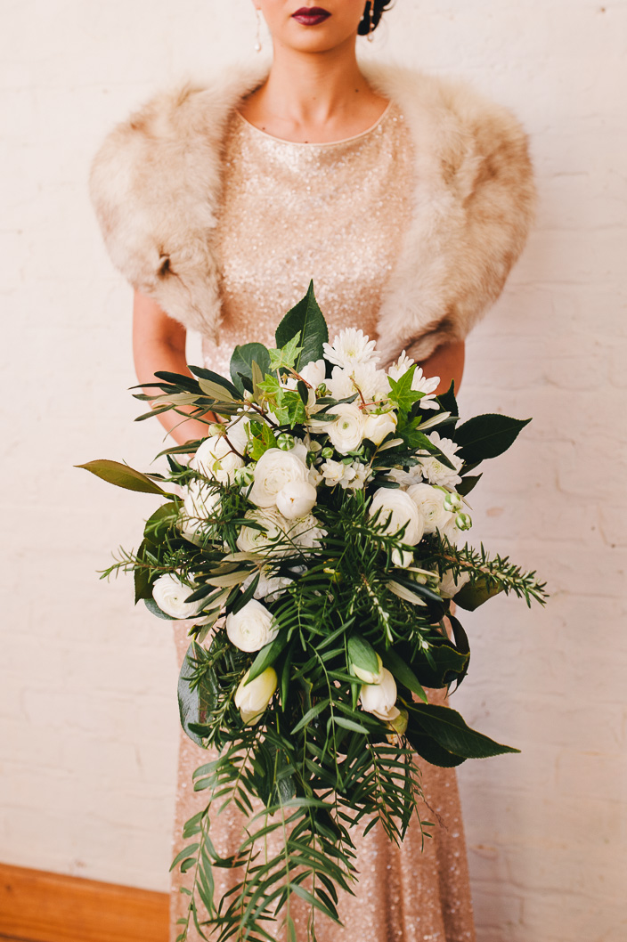 Cornish Town Hall Styled Shoot
