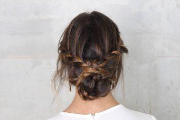 boho wedding hair and makeup