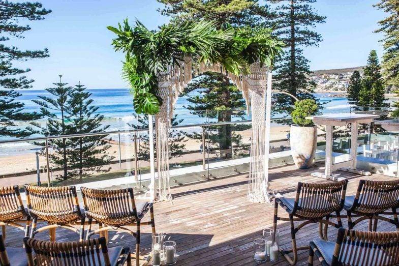 Australia 39 s best beach wedding venues wedshed for Beach wedding venues east coast