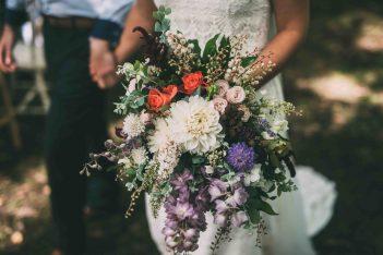 non traditional sydney wedding florist
