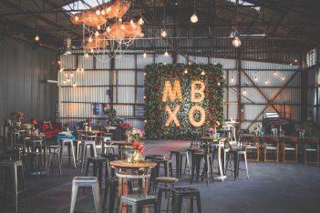 TAS Warehouse Wedding Styling
