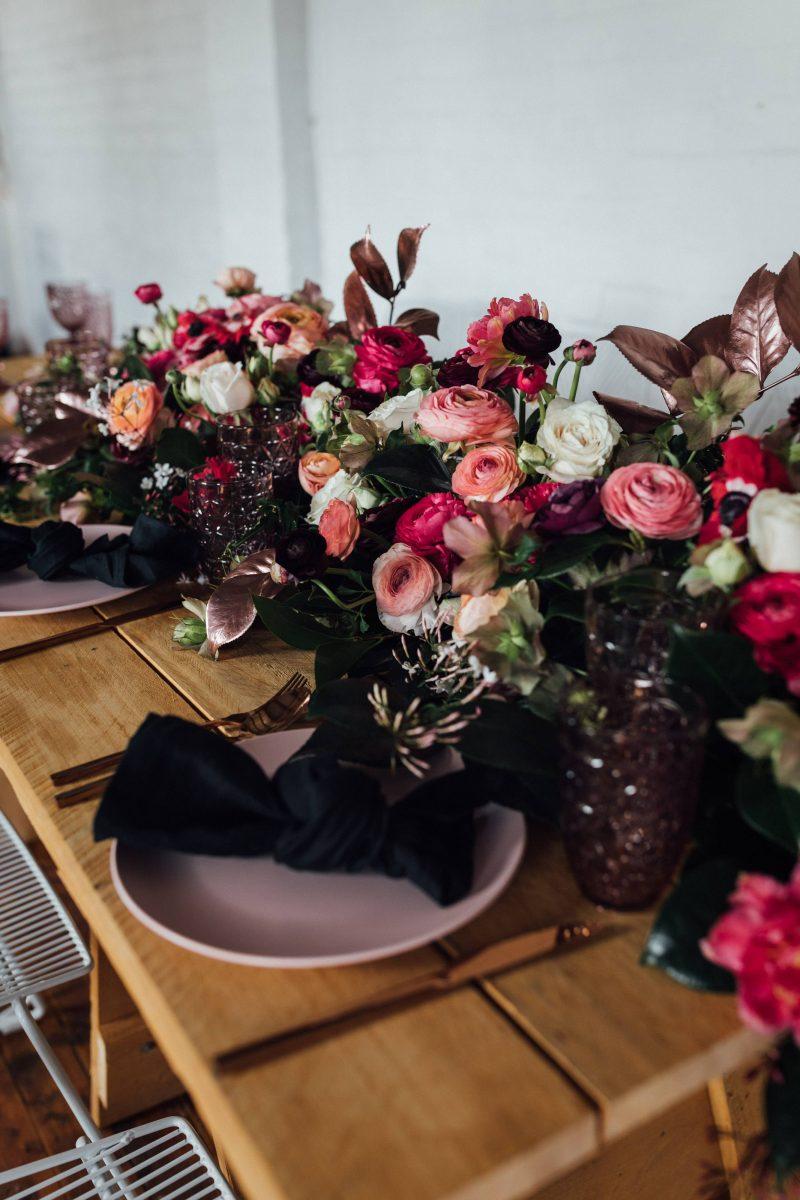 Uneke Warehouse Wedding Inspiration