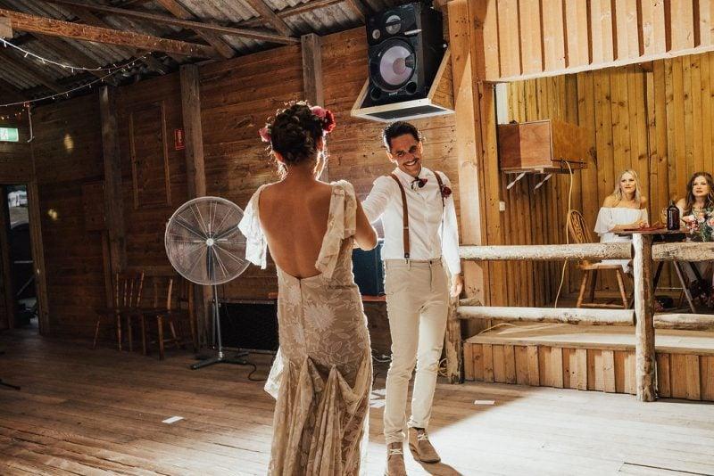 VIC wedding sheds