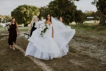 australian wedding dress
