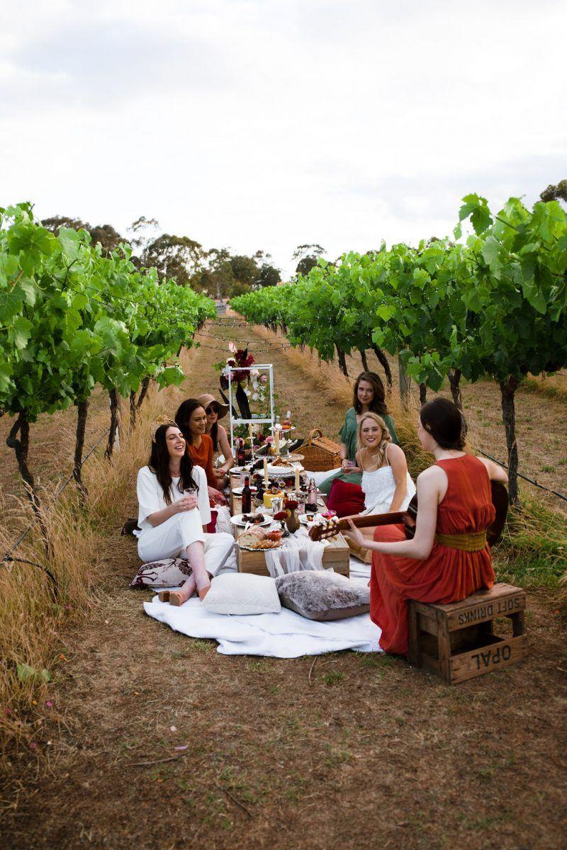 bridal shower picnic inspiration