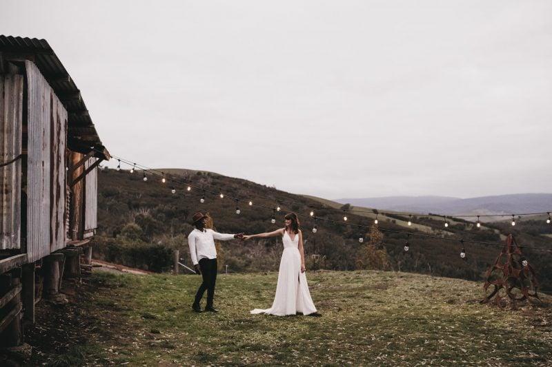 farm shed wedding