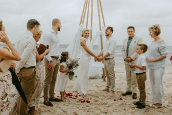 intimate small wedding