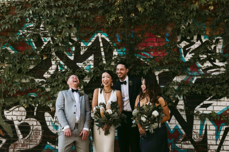 cool Melbourne wedding