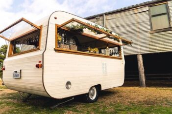 Caravan Morrison Mobile Bar